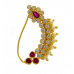 Nath Traditional Maharashtrian / Marathi nose ring Clip on 35 mm