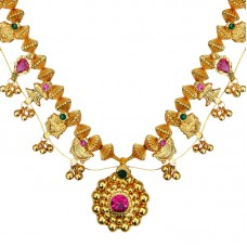 Kolhapuri Saaj a traditional Maharashtrian necklace/ Mangalsutra