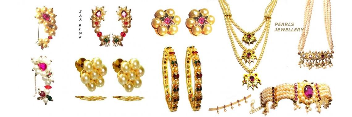 Pearls jewellery