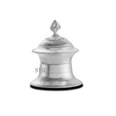 Silver traditional kukum karanda Silver Purity T100/980