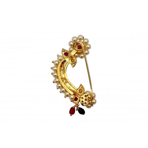 Marathi Nose Ring Clip On