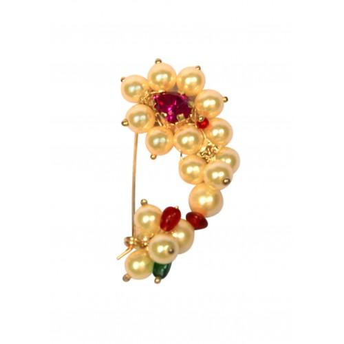 Maharashtrian nose pin designs