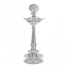 Silver Samai diwa lamp for pooja Silver Purity 925 diya